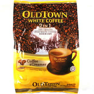 OLDTOWN 2 in 1 Coffee & Creamer White Coffee 20 sachets