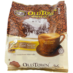 OLDTOWN 3 in 1 Natural Cane Sugar White Coffee 20 sachets