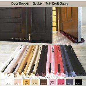DOOR STOPPER   BLOCKER   DRAFT STOPPER