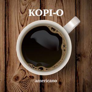 Kopi O ( Americano )